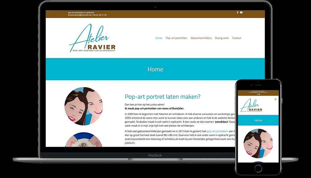 Mockup Atelier Ravier
