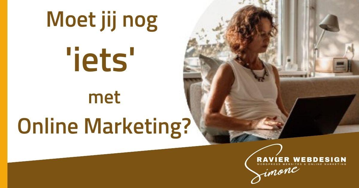 2021-07-08 Moet jij nog iets met Online Marketing